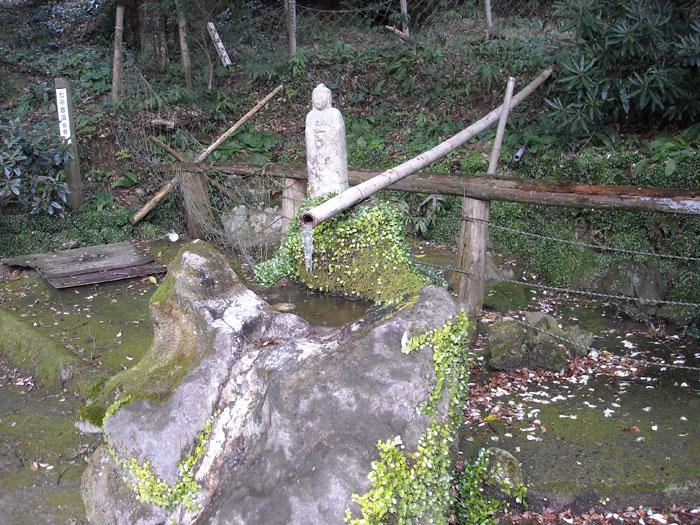 桜山南原寺七不思議 その2霊水・役行者の力石・光明岩