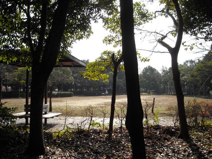 ジョギングコースのある東沖緑地公園
