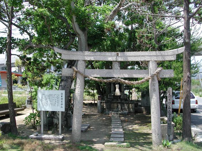 厚狭の寝太郎が祀ってある寝太郎荒神社