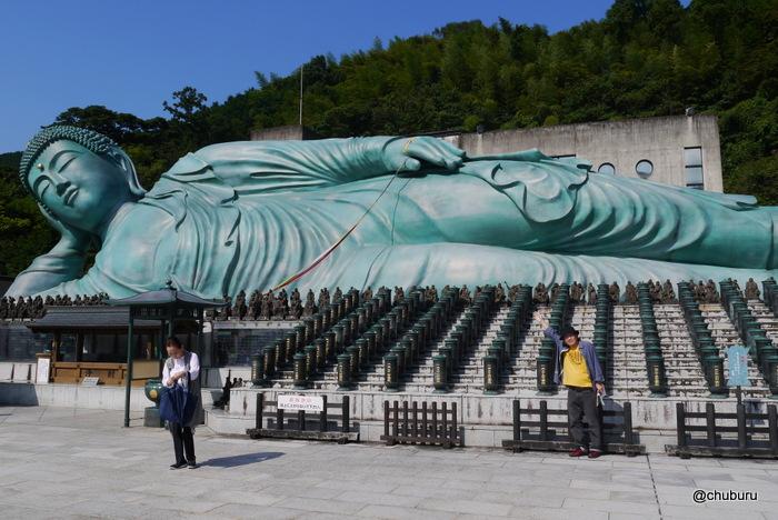 世界最大の涅槃像を見に篠栗町の南蔵院に行ってきた。その5仏足