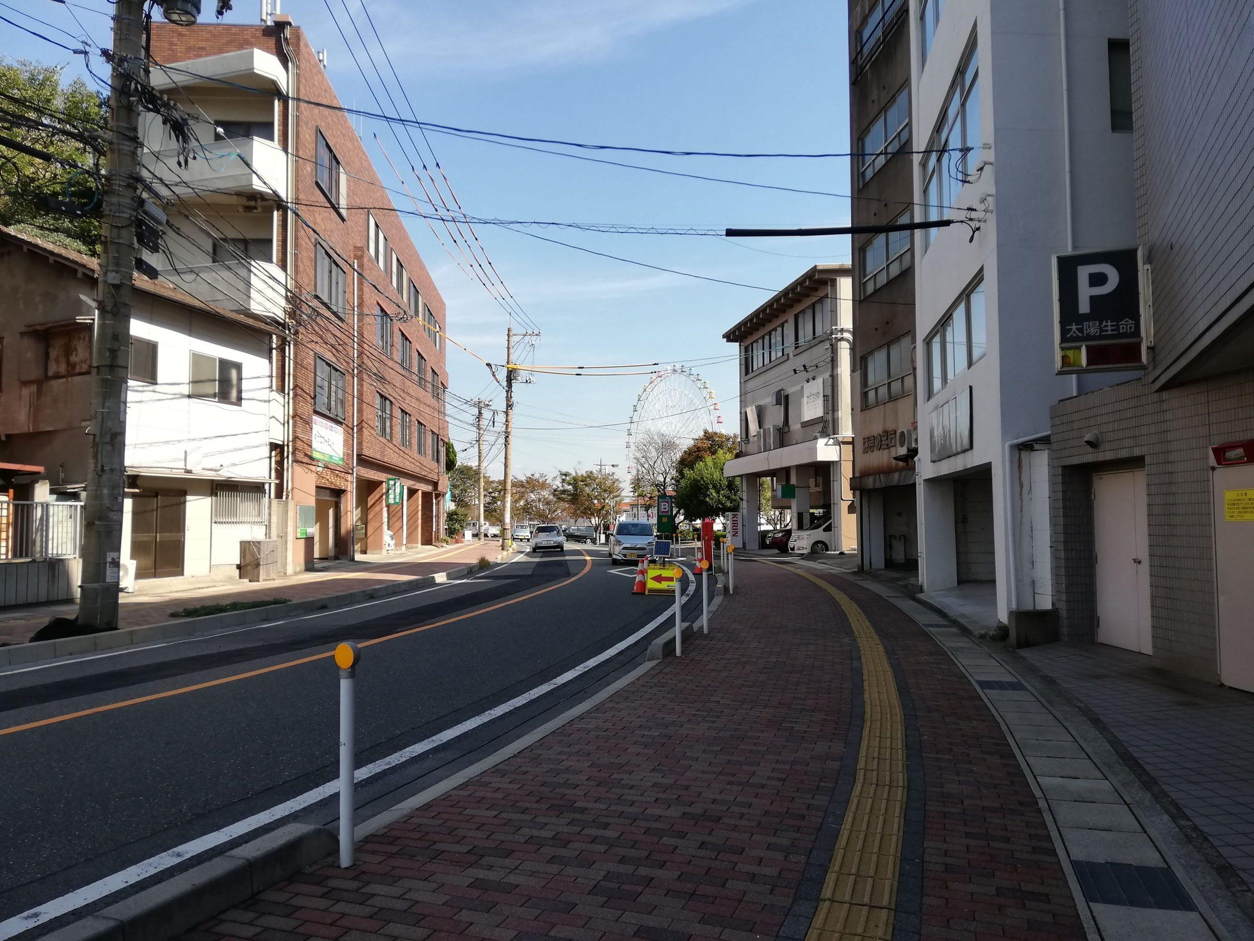細江町から唐戸方面へ、金子みすゞの寿公園まで歩いてきました。